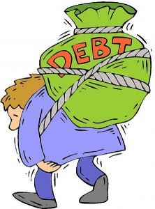 Carrying Debt caused by a Deficiency Judgment